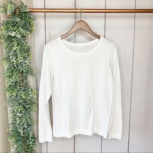 LULULEMON Relaxed Fit Swiftly Long Sleeve 8-10